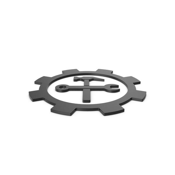 Logo: Black Symbol Tools PNG & PSD Images