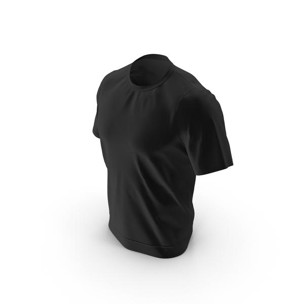 Black T- Shirt PNG & PSD Images