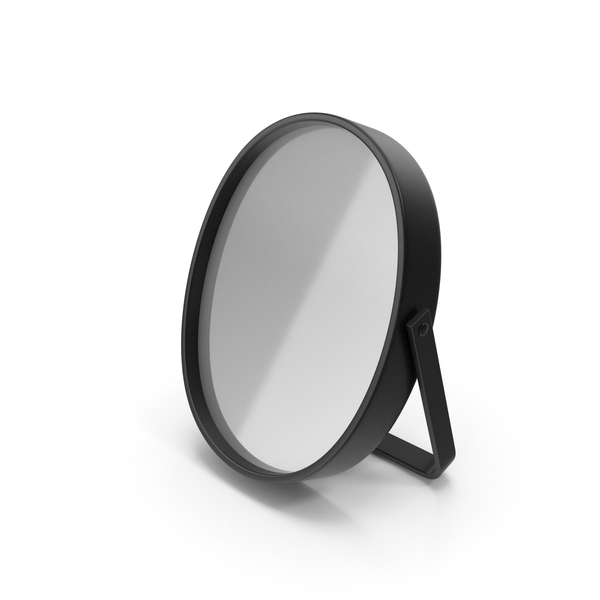 Black Table Mirror PNG & PSD Images