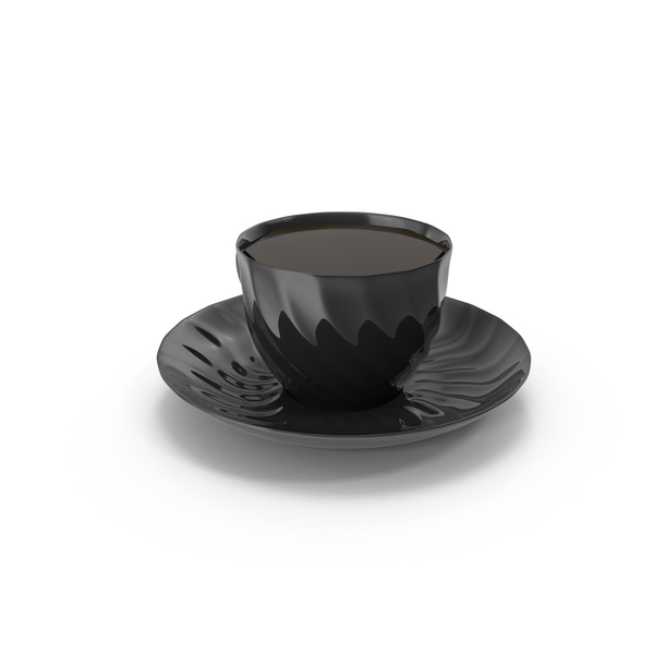 Teacup: Black Tea Cup PNG & PSD Images