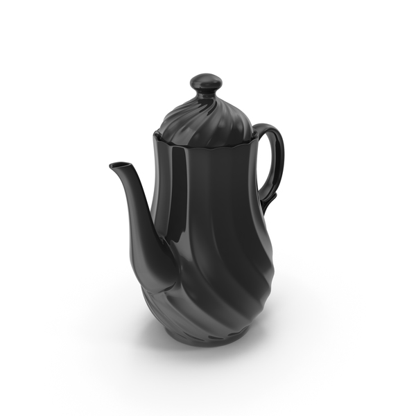 Black Tea Pot PNG & PSD Images