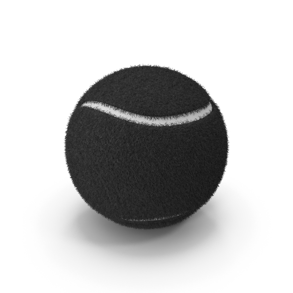 Black Tennis Ball PNG & PSD Images