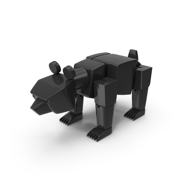 Black Toy Bear PNG & PSD Images