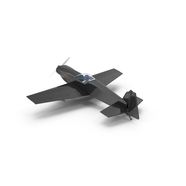 Airplane: Black Toy Sport Plane PNG & PSD Images