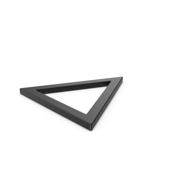 Computer Icon: Black Triangle PNG & PSD Images