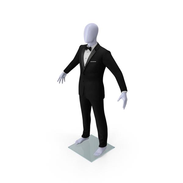 Black Tuxedo Suit PNG & PSD Images