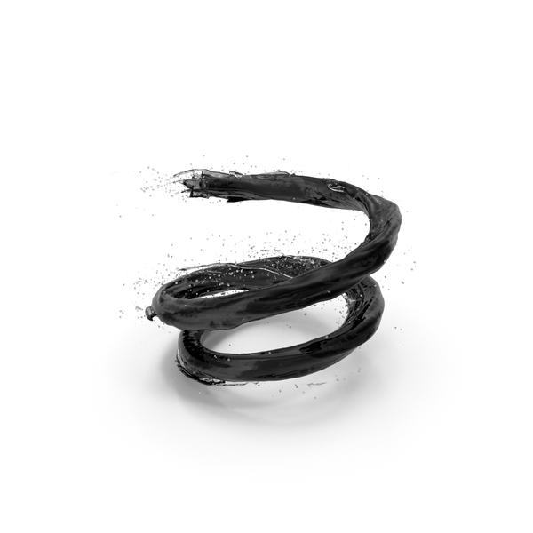 Splash: Black Vortex PNG & PSD Images