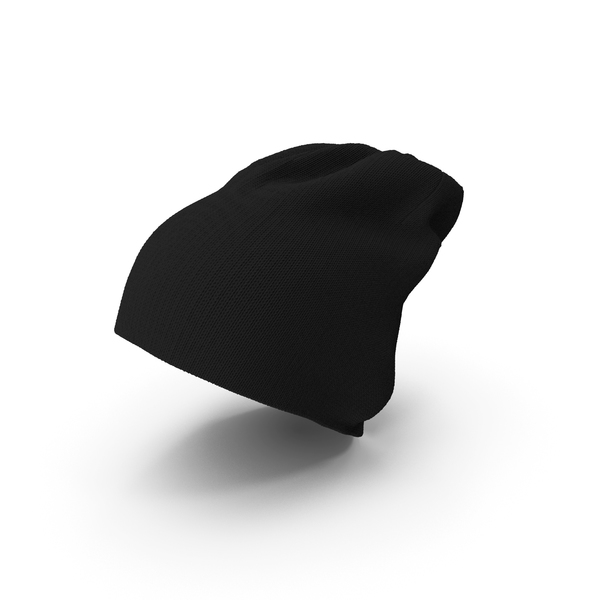 Black Winter Cap Beanie PNG & PSD Images