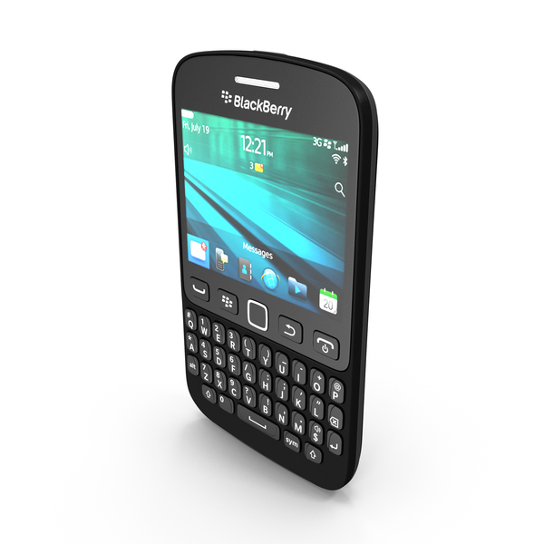 Blackberry 9720 Smartphone PNG & PSD Images