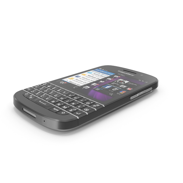 BlackBerry Q10 PNG & PSD Images