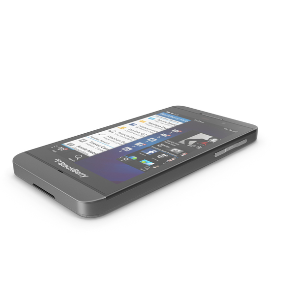 Blackberry Z10 PNG & PSD Images