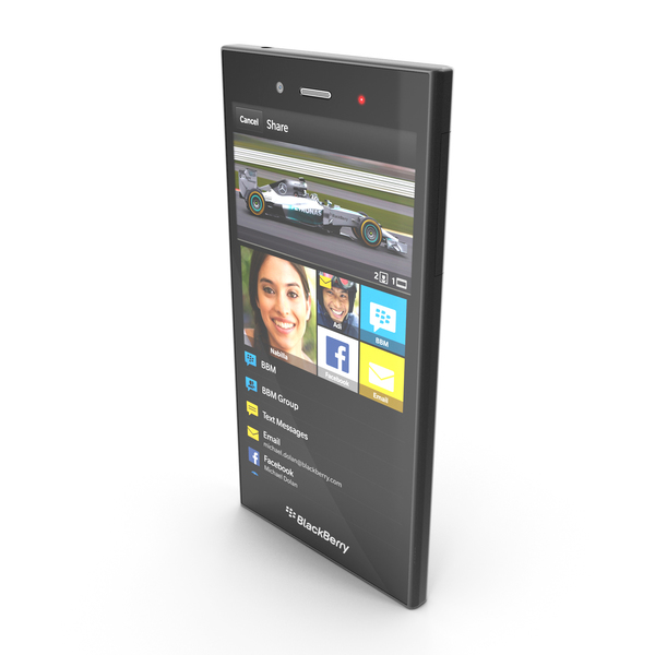Blackberry Z3 Smartphone PNG & PSD Images
