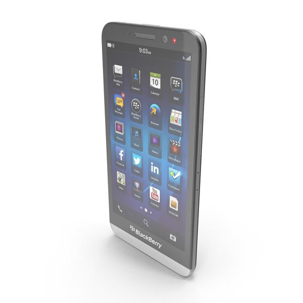 BlackBerry Z30 PNG & PSD Images