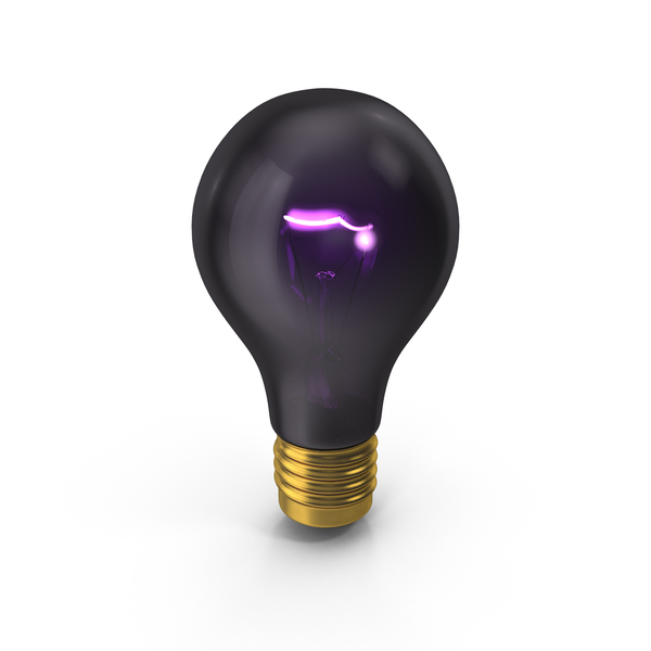 Blacklight Bulb Object