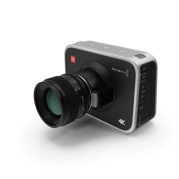 Blackmagic Cinema Camera PNG & PSD Images