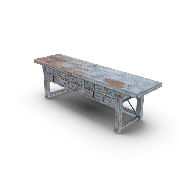 Blacksmith's Table Object