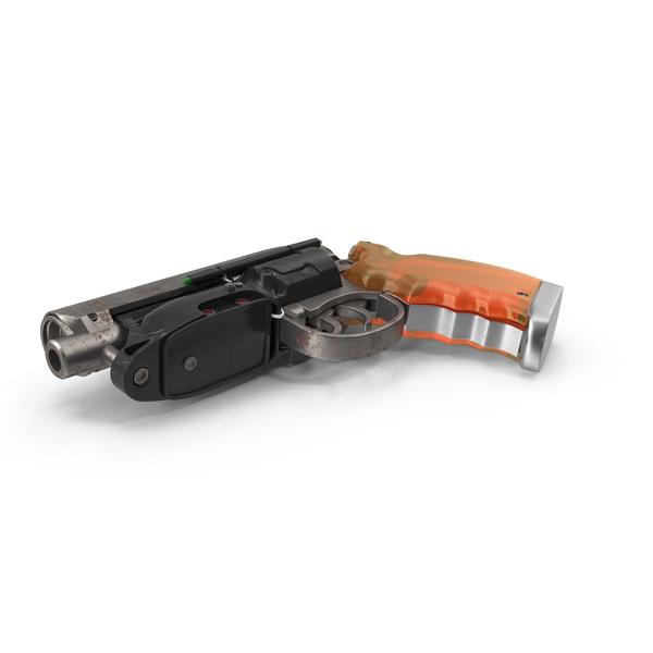 Blade Runner Deckard Gun PNG & PSD Images