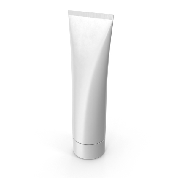 Blank Cream Tube PNG & PSD Images
