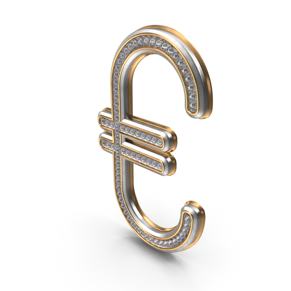 Bling Diamonds Symbol Euro PNG & PSD Images