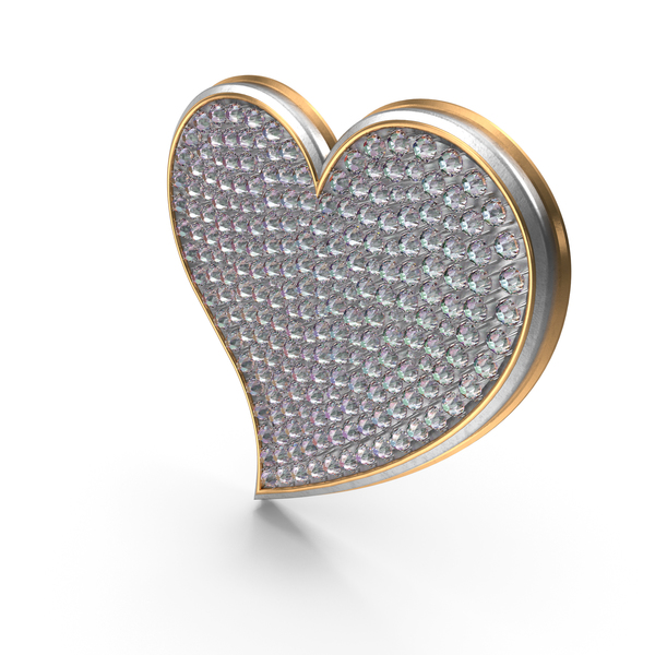 Shape: Bling Heart Symbol PNG & PSD Images