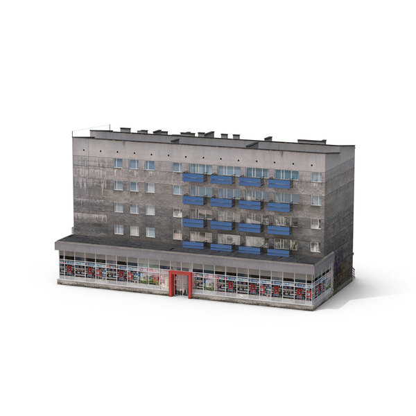 Apartment Building: Block of Flats PNG & PSD Images