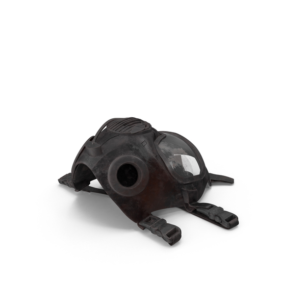 Bloody Riot Gas Mask Object