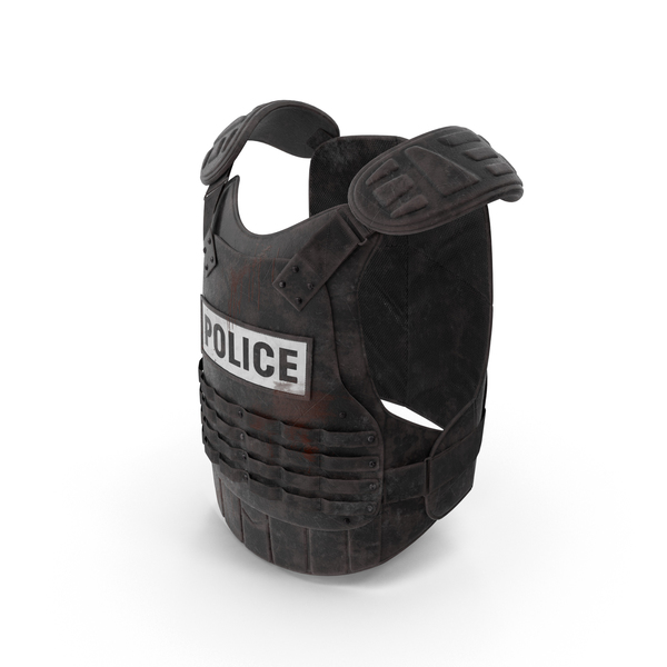 Shield: Bloody Riot Gear Vest PNG & PSD Images