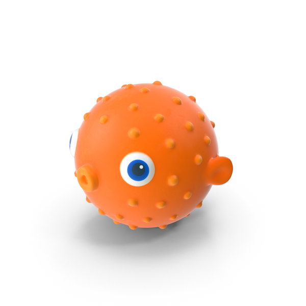 Blow Fish Bath Toy PNG & PSD Images