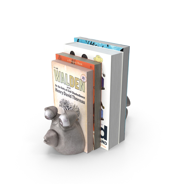 Book Ends: Blowfish Bookends PNG & PSD Images