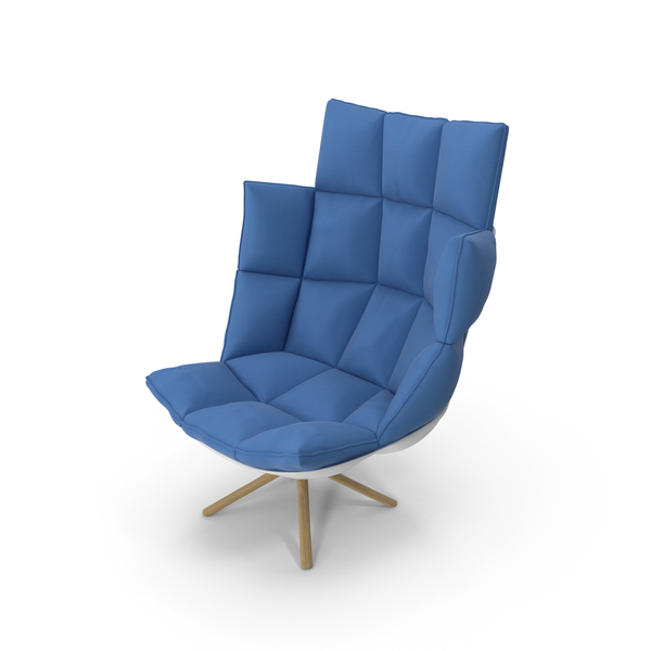 Blue Armchair PNG & PSD Images
