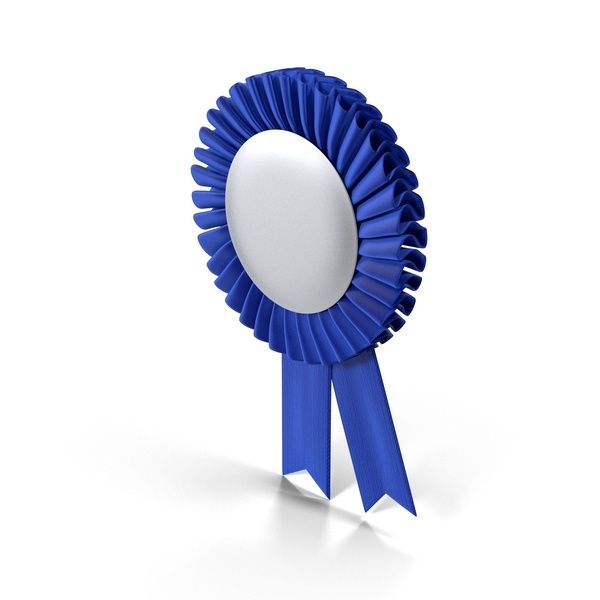 Prize Ribbon: Blue Award Ribbons PNG & PSD Images