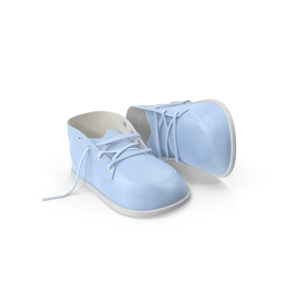 Blue Baby Shoes PNG & PSD Images