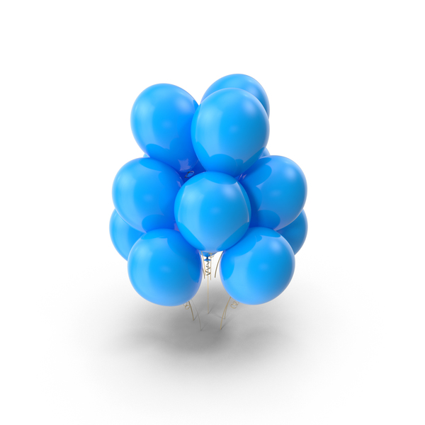Blue Balloons Object