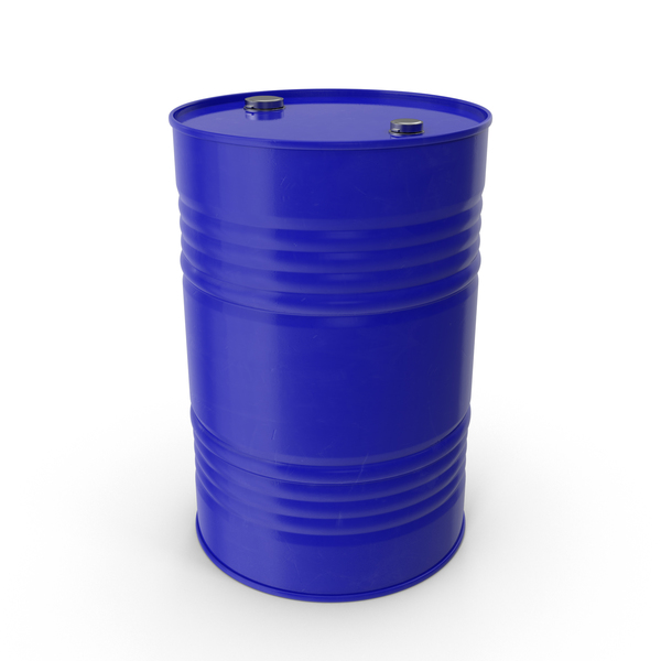 Blue Barrel PNG & PSD Images