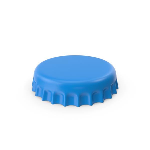 Blue Bottle Cap PNG & PSD Images