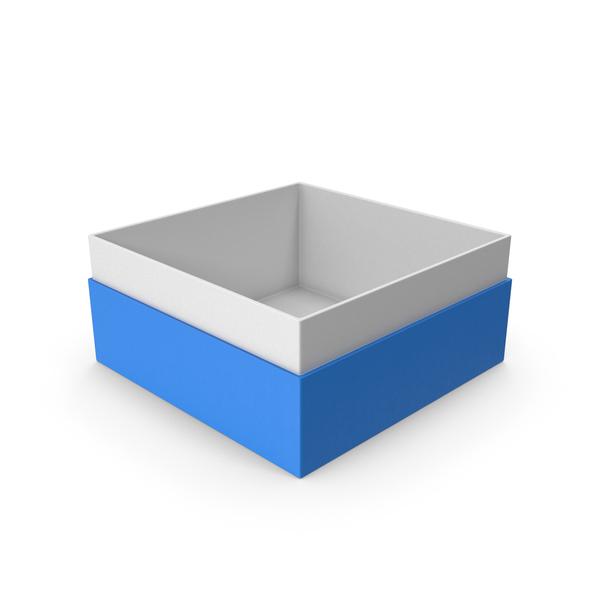 Cardboard: Blue Box No Cap PNG & PSD Images