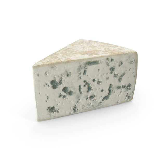 Blue Cheese Wedge PNG & PSD Images