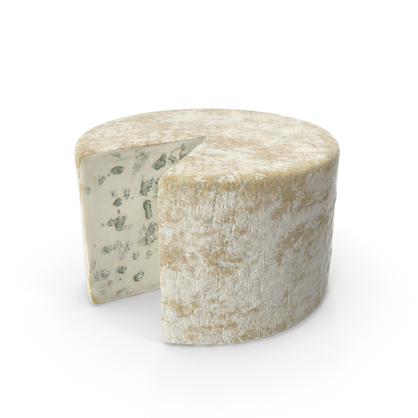 Blue Cheese Wheel Object