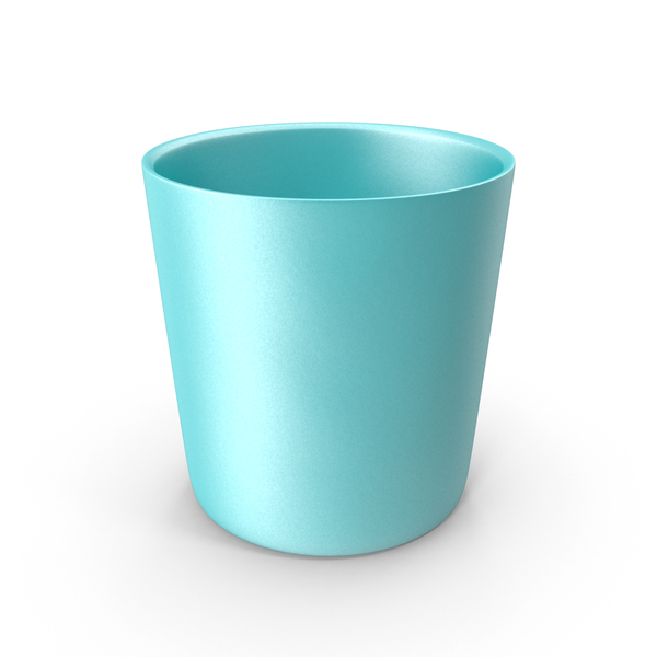 Plastic: Blue Child's Cup PNG & PSD Images