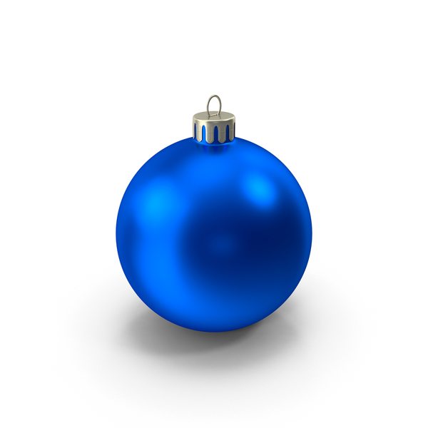 Blue Christmas Ornament PNG & PSD Images