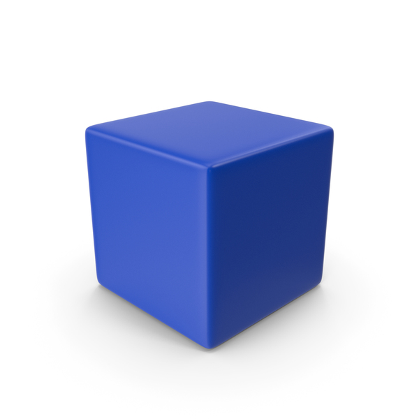 Blue Cube PNG & PSD Images