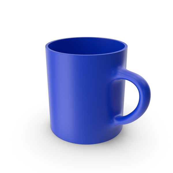 Blue Cup PNG & PSD Images