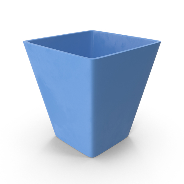 Blue Flower Pot PNG & PSD Images