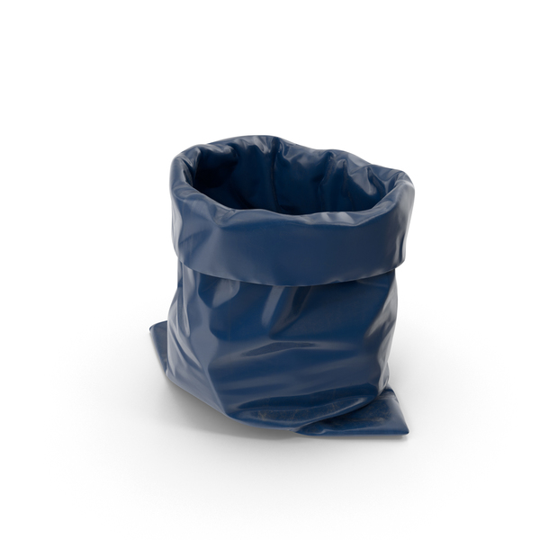 Blue Garbage Bag PNG & PSD Images