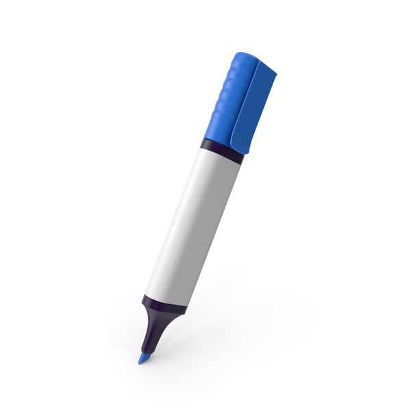 Blue Highlighter PNG & PSD Images