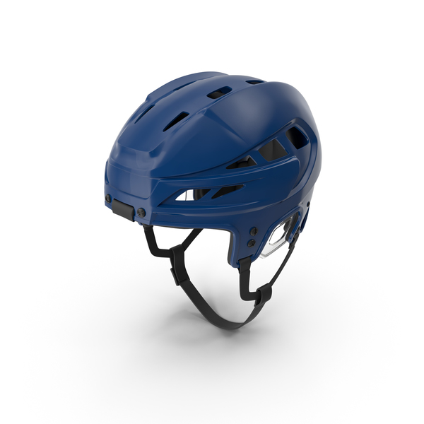 Blue Hockey Helmet PNG & PSD Images