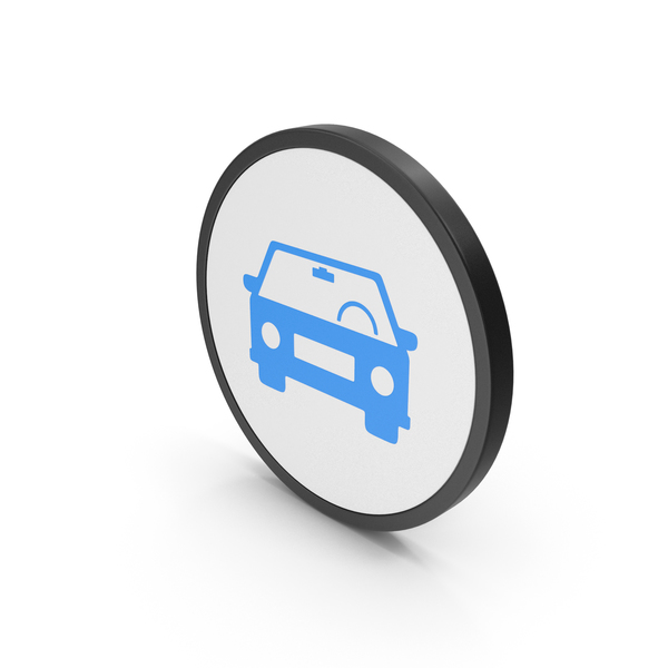 Computer: Blue Icon Car PNG & PSD Images