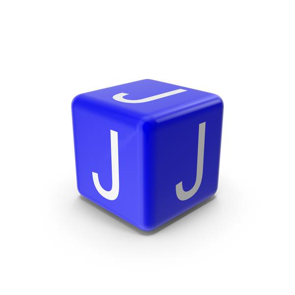 Blue J Block PNG & PSD Images