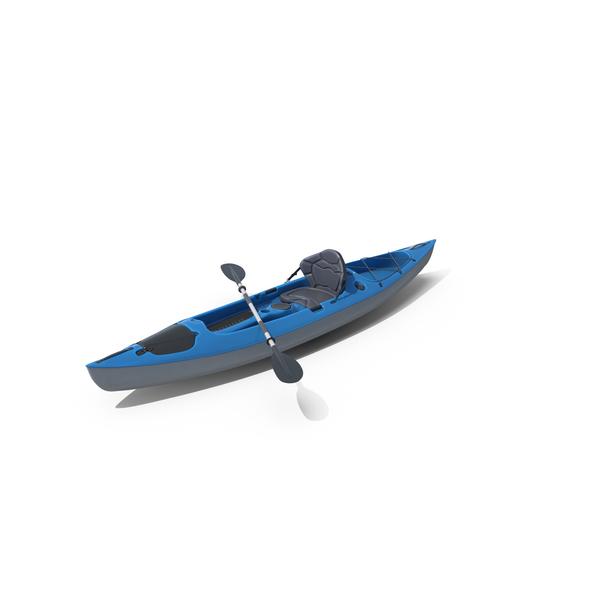 Blue Kayak PNG & PSD Images