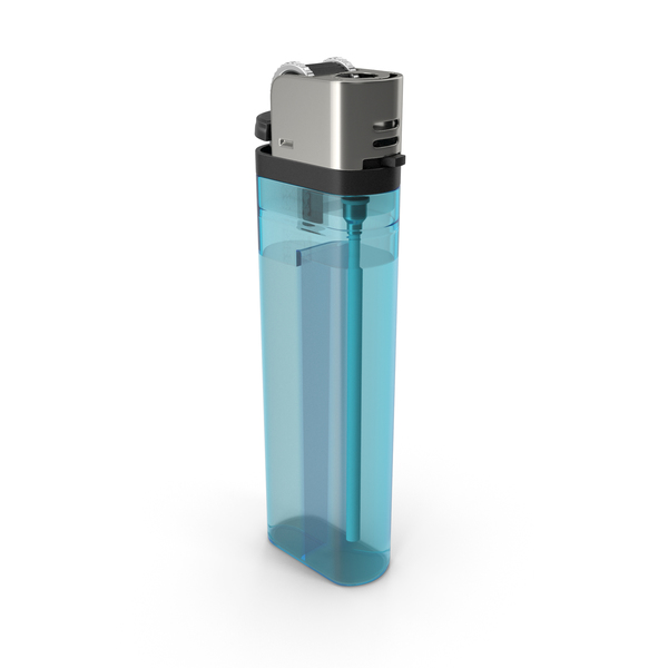 Blue Lighter PNG & PSD Images